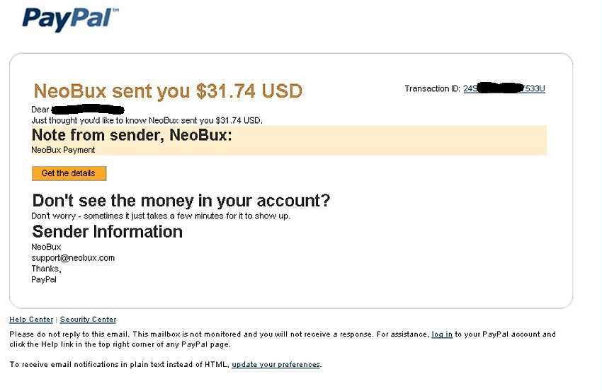 Neobux Payment11